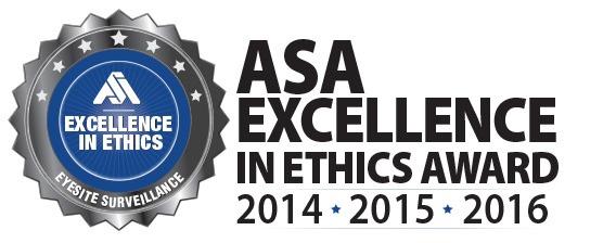 eyesite surveillance asa excellence in ethics award