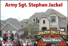 Operation Finally Home Army Sgt. Stephen Jackel