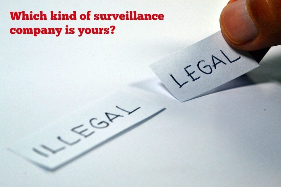 Which Kind of Surveillance Company is Yours