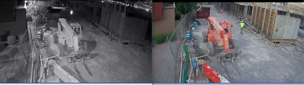 Construction Site Security Camera Rental