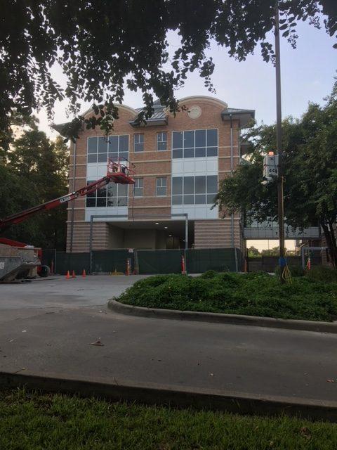 Ronald McDonald House building, street view