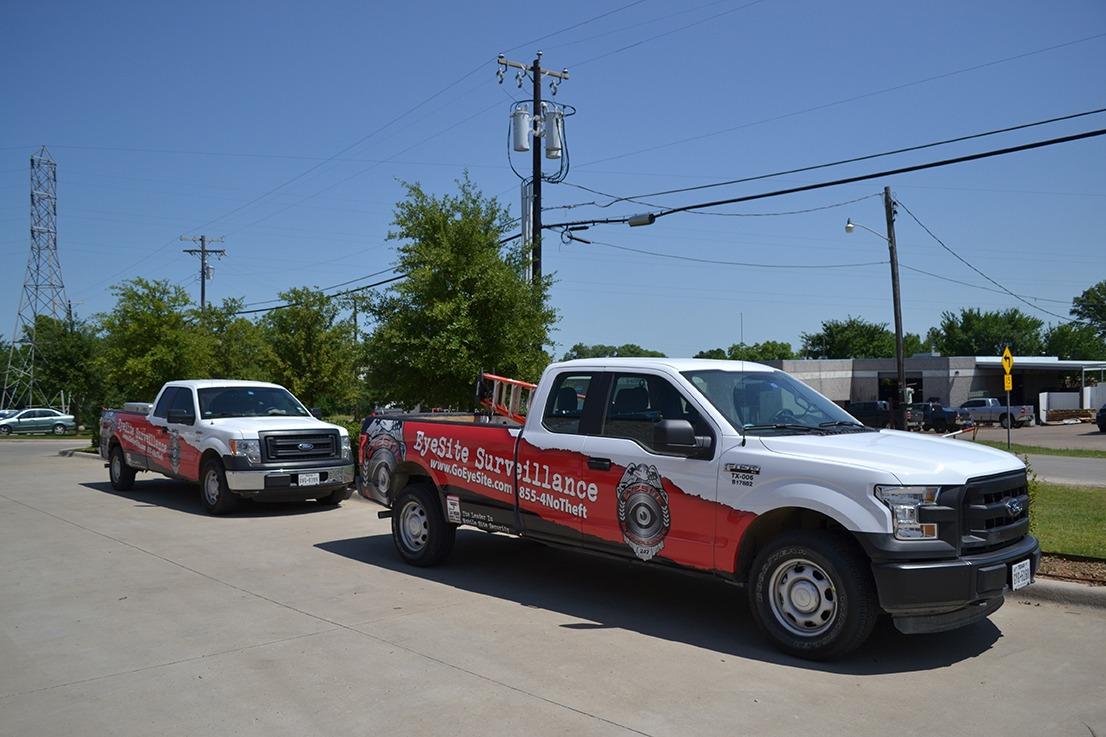 Eyesite Surveillance's Construction Site Security Truck