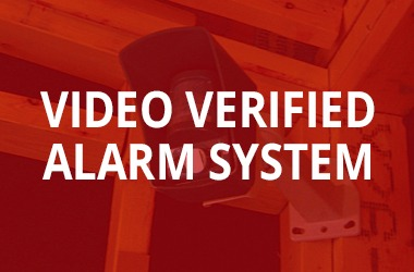 Video verified alarm system