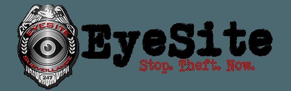 Eyesite logo, construction site surveillance