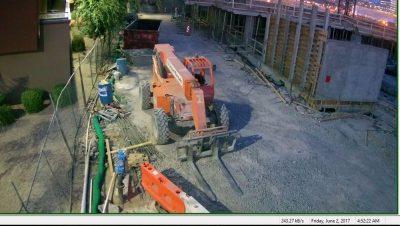 Construction Site Security Surveillance image