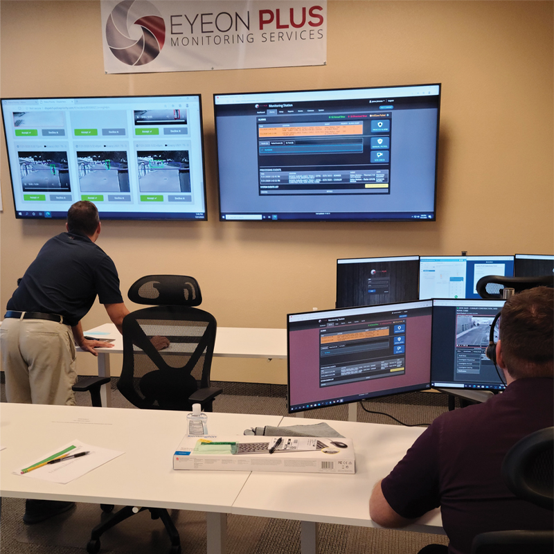 EyeSite's Expert Security Monitoring Team